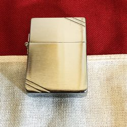 1935 Zippo Brushed Crome Lighter