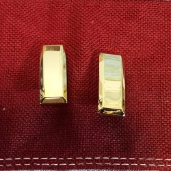 2nd Lieutenant Rank Insignia Gold Bars WWII WW2