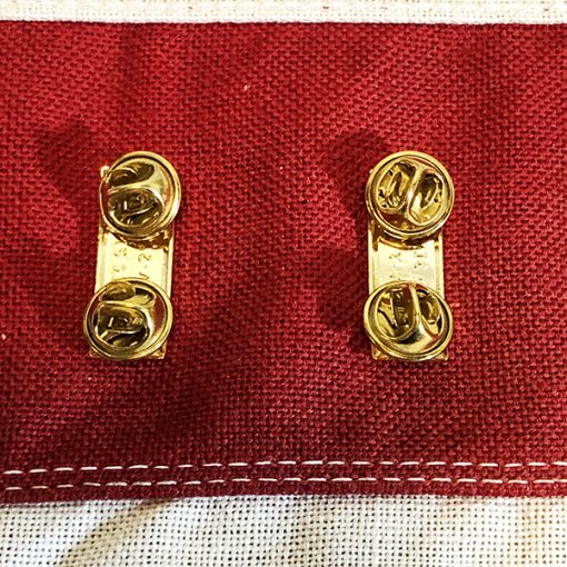 2nd Lieutenant Rank Insignia Clutch Back Pin