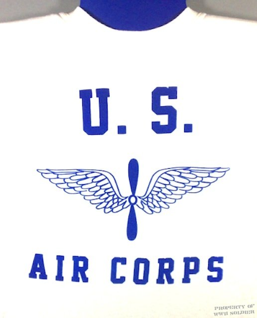 WWII Army Air Corps T Shirt, Wing and Prop PT Shirt