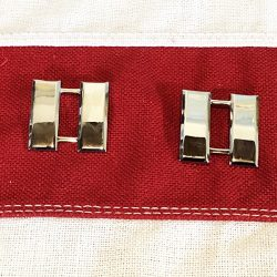 Captain Rank Insignia Silver Bars WWII WW2