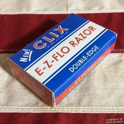 WWII Clix Razor Box, WW2 side view