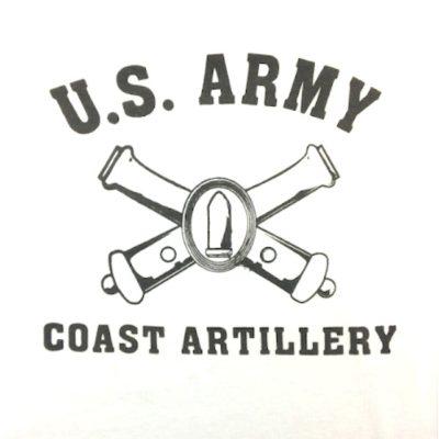 WWII Coast Artillery T Shirt WW2