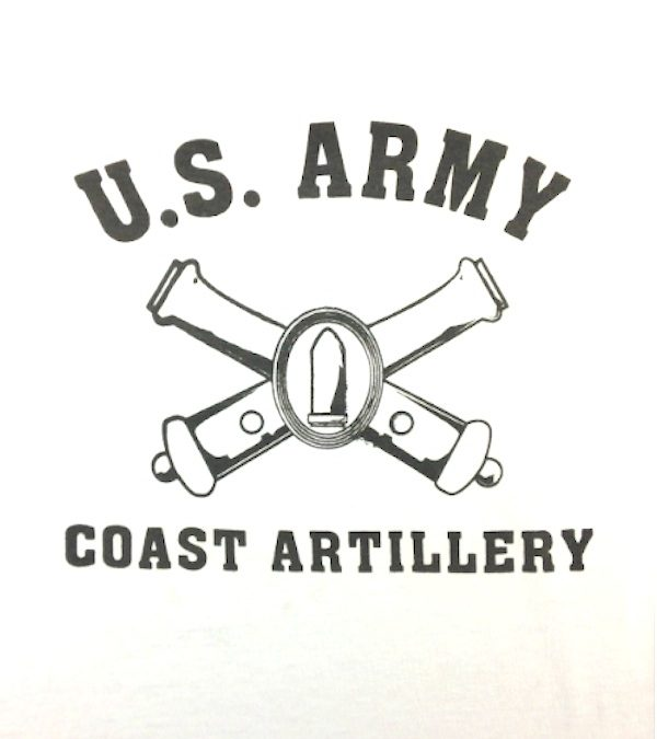 WWII Coast Artillery T Shirt Reproduction