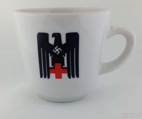 DRK German Red Cross Deutsches Rotes Kreuz Mug