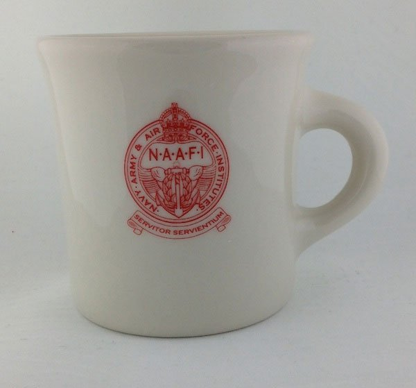 NAAFI Mug, WWII British Reproduction