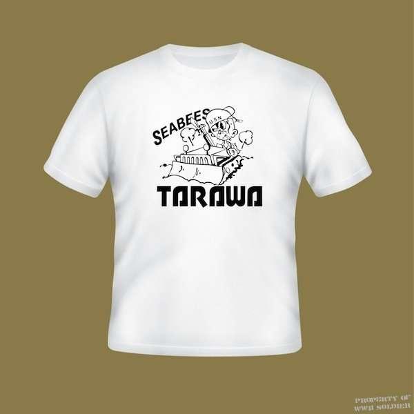 Seabees Tarawa PT Shirt