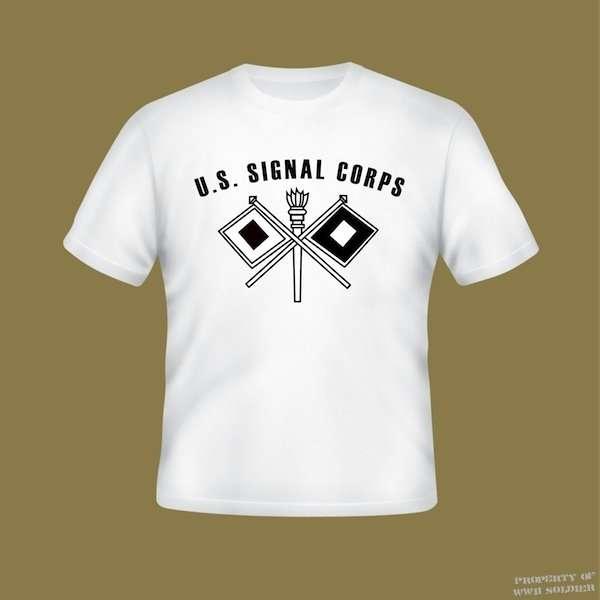 U.S. Signal Corps PT Shirt