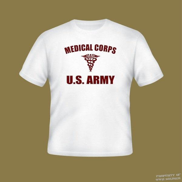 Woman's Medical Corps U.S. Army PT Shirt