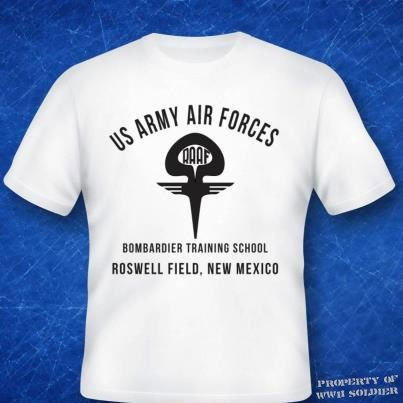 U.S. Army Air Forces Bombardier Training School Roswell Field, New Mexico PT Shirt