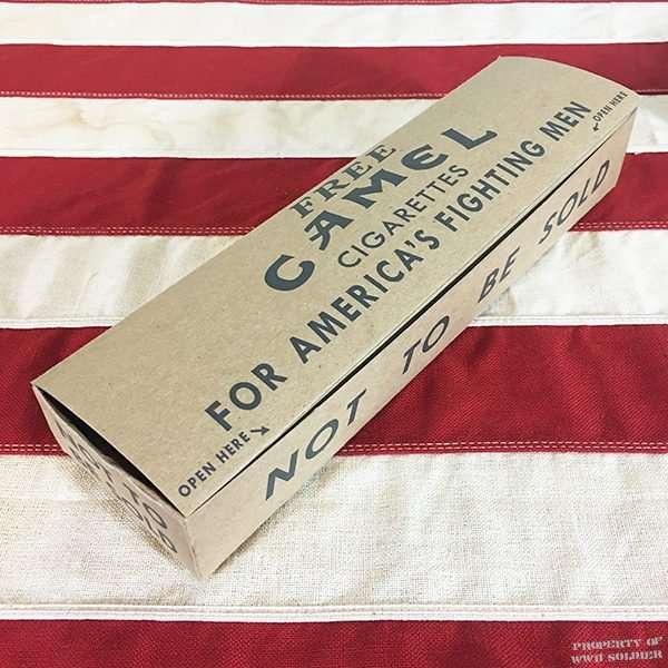 WWII Camel Cigarette Carton Reproduction