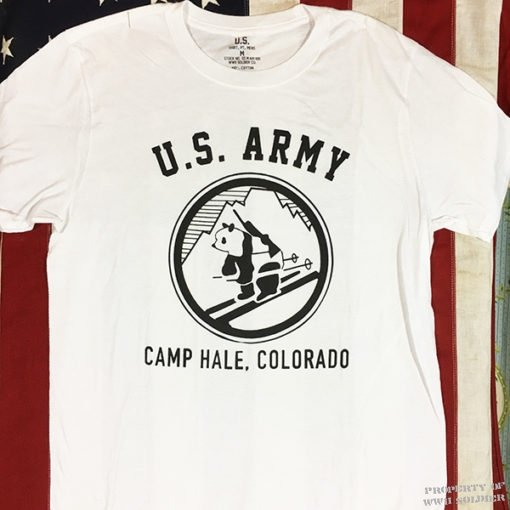 WWII Camp Hale T Shirt, ww2 Mountain Division Commando Pando
