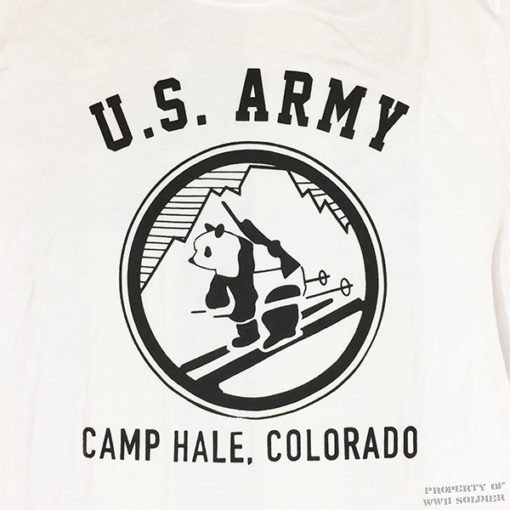 WWII Camp Hale T Shirt Design WW2