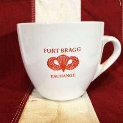 WWII Fort Bragg Cup Mug WW1