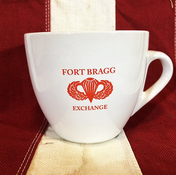 Airborne Paratrooper Fort Bragg Mug Reproduction