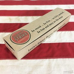 WWII Lucky Strike White Cigarette Carton WW2