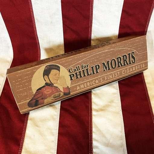 WWII Philip Morris Cigarette Carton WW2