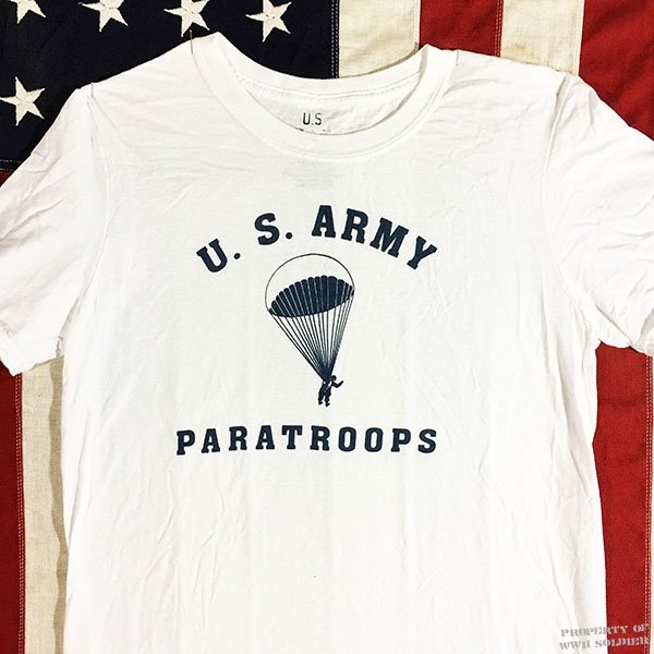 WWII Paratrooper T Shirt, U.S. Army Reproduction