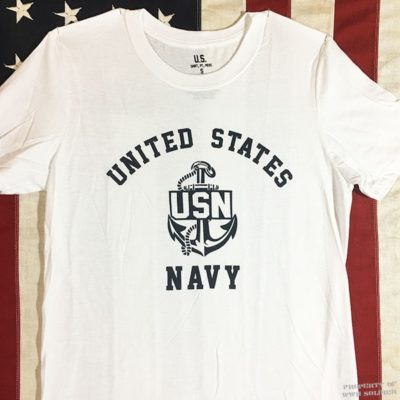 WWII US Navy T Shirt WW2 USN