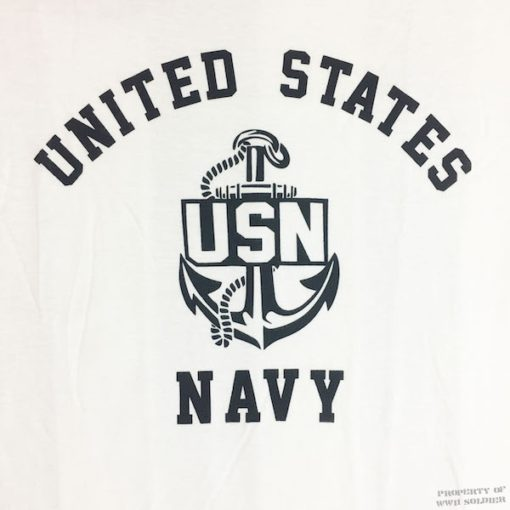 WWII US Navy T Shirt WW2 USN Design