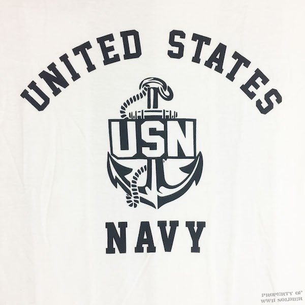 wwii us navy t shirt usn reproduction wwii soldier