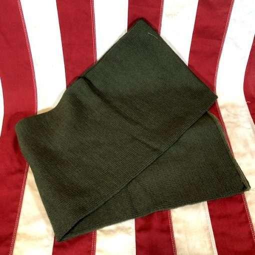 Wool Scarf Olive Drab OD Green WWII WW2