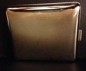 cigarette case 1940 germany back