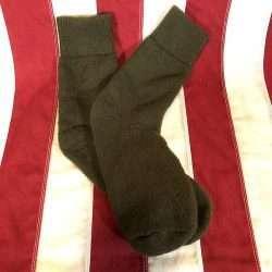 O D Green Wool Socks