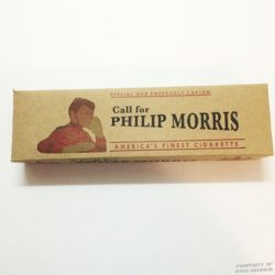 WWII Philip Morris Cigarette Carton WW2 Special War Emergency