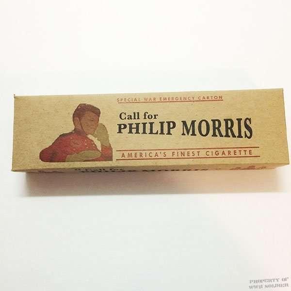 Philip Morris Cigarette Carton