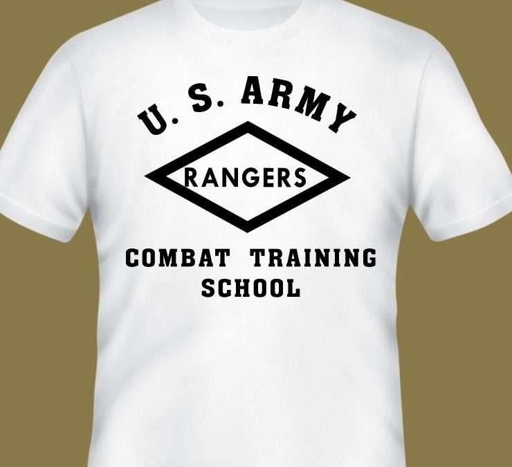 U.S. Army Ranger Combat Training School PT Shirt
