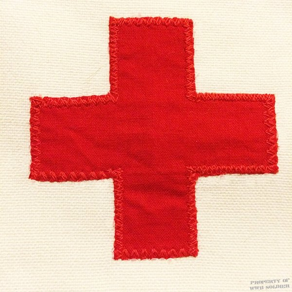 Red Cross Medic Armband / Brassard, US Army Reproduction