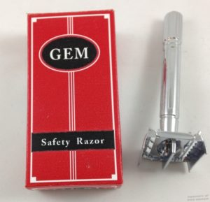 safety razor gem butterfly