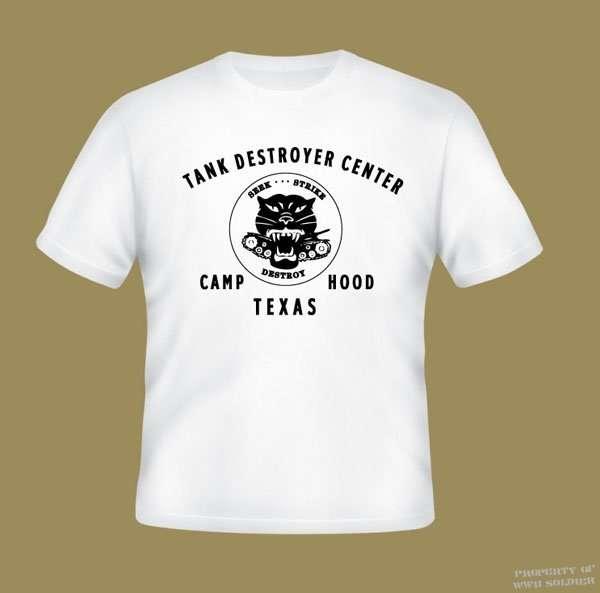 Tank Destroyer Center Camp Hood Texas PT Shirt