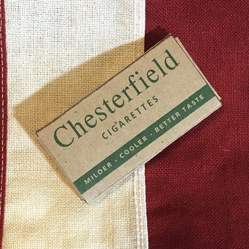 WWII Chesterfield K Ration Cigarette Pack WW2 Reproduction