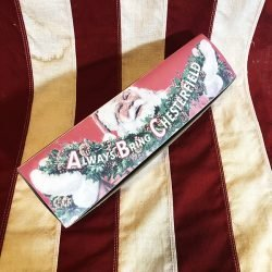 WWII Chesterfield Christmas Cigarette Carton WW2 Reproduction
