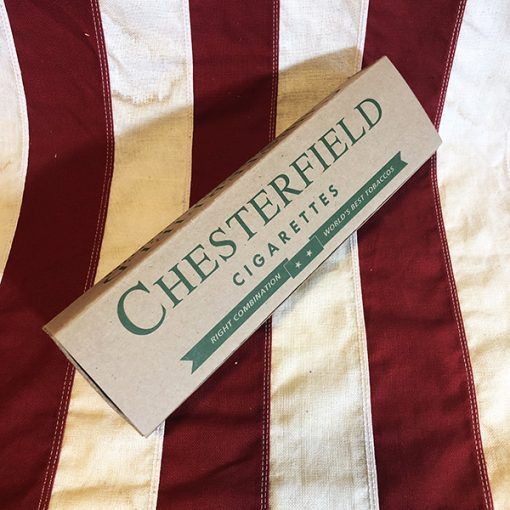 WWII Chesterfield Cigarette Carton WW2 Reproduction