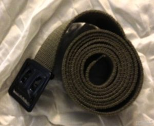 Enlisted belt OD black