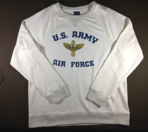 Sweatshirt Army Air Force 2 color