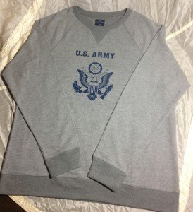 Sweatshirt Army front