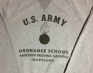 Sweatshirt Ordnance Aberdeen close