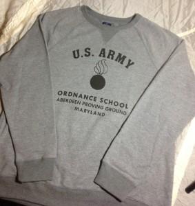 Sweatshirt Ordnance Aberdeen front