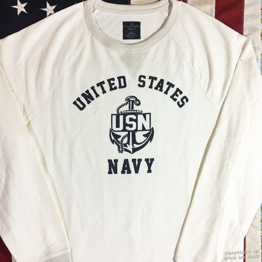 WWII US Navy Sweatshirt WW2 USN