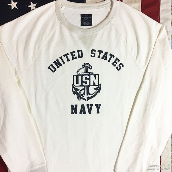 WWII US Navy Sweatshirt with V notch Reproduction - WWII Soldier 9190ce0bc0e