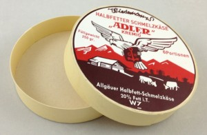 german cheese box adler open