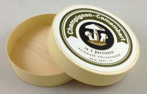 german cheese box champignon open