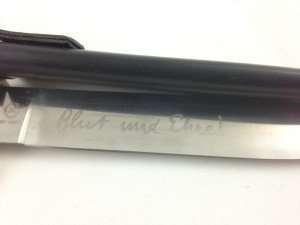 Knife HJ blade