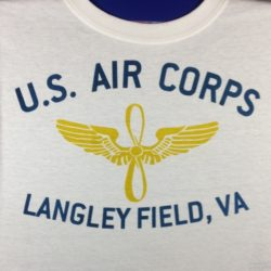 WWII Langley Field VA T Shirt WW@ Army Ari Corps
