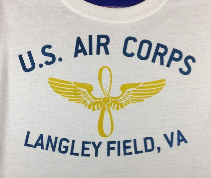 WWII Langley Field VA T Shirt, Army Air Corps