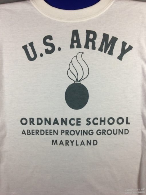 WWII Ordnance School T Shirt WW@
